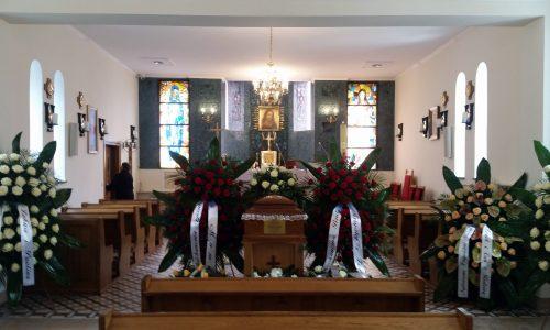 ceremonia z trumną