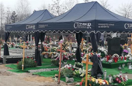 Zaplecze techniczne CERBER Warszawa